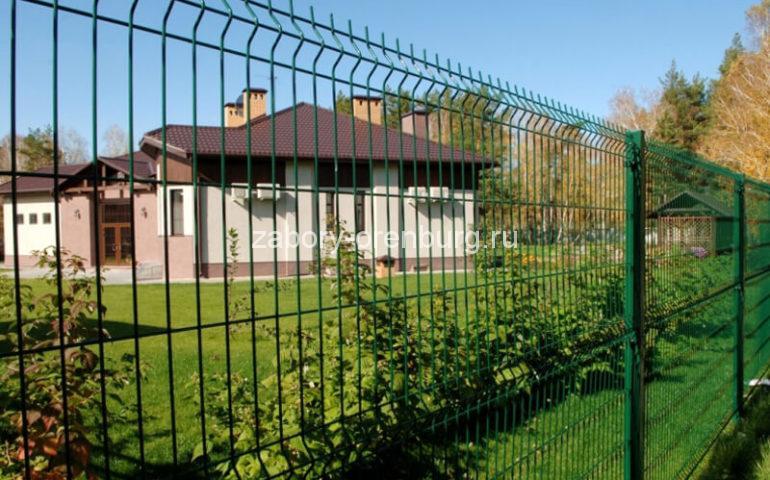 3д забор в Оренбурге