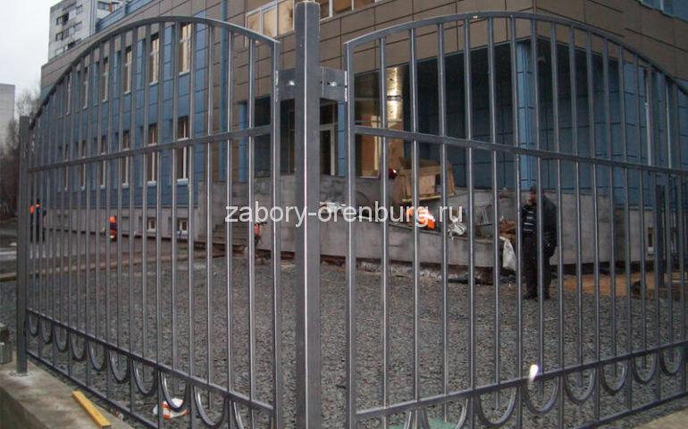 забор из профтрубы в Оренбурге